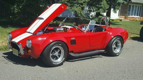 Garage kept 1966 Replica kit Cobra for sale