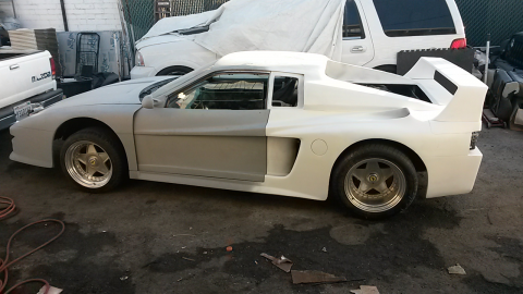 Unfinished 1985 Fiero Koenig Testarossa Replica for sale