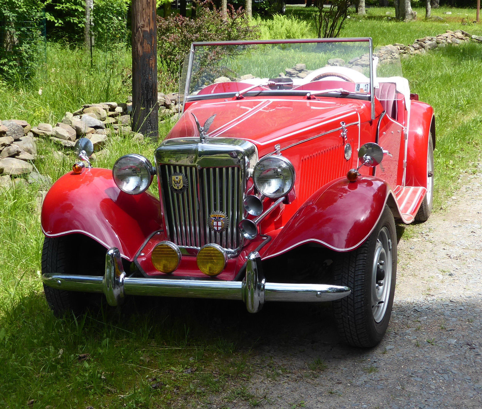 VW Engine 1987 Replica Kit 1952 MG TD For Sale