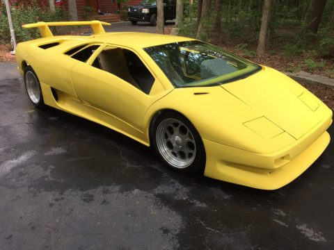 Custom built frame 1999 Replica kit Lamborghini Diablo Replica for sale