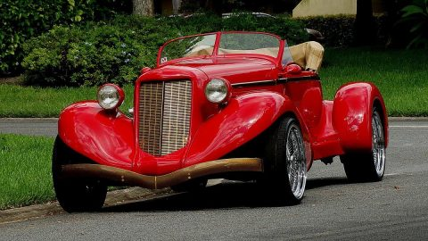 Excellent condition 1936 Auburn Speedster Replica kit for sale