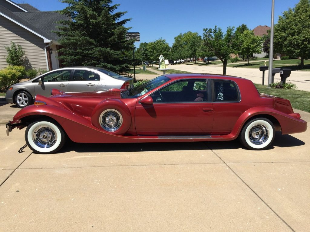 Mint 1989 Tiffany Replica Mercury Cougar Based Roadster For Sale