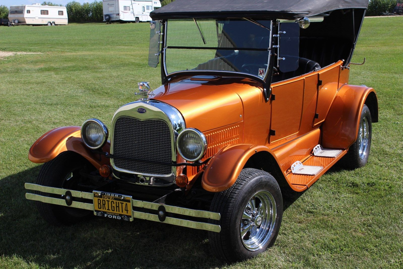 mustang based 1928 ford model a hot rod replica for sale. Black Bedroom Furniture Sets. Home Design Ideas