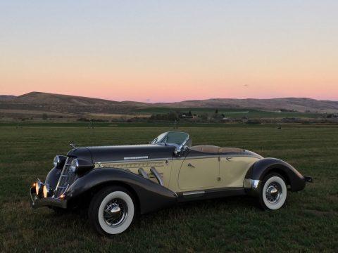 clean 1937 Auburn 851 Replica for sale