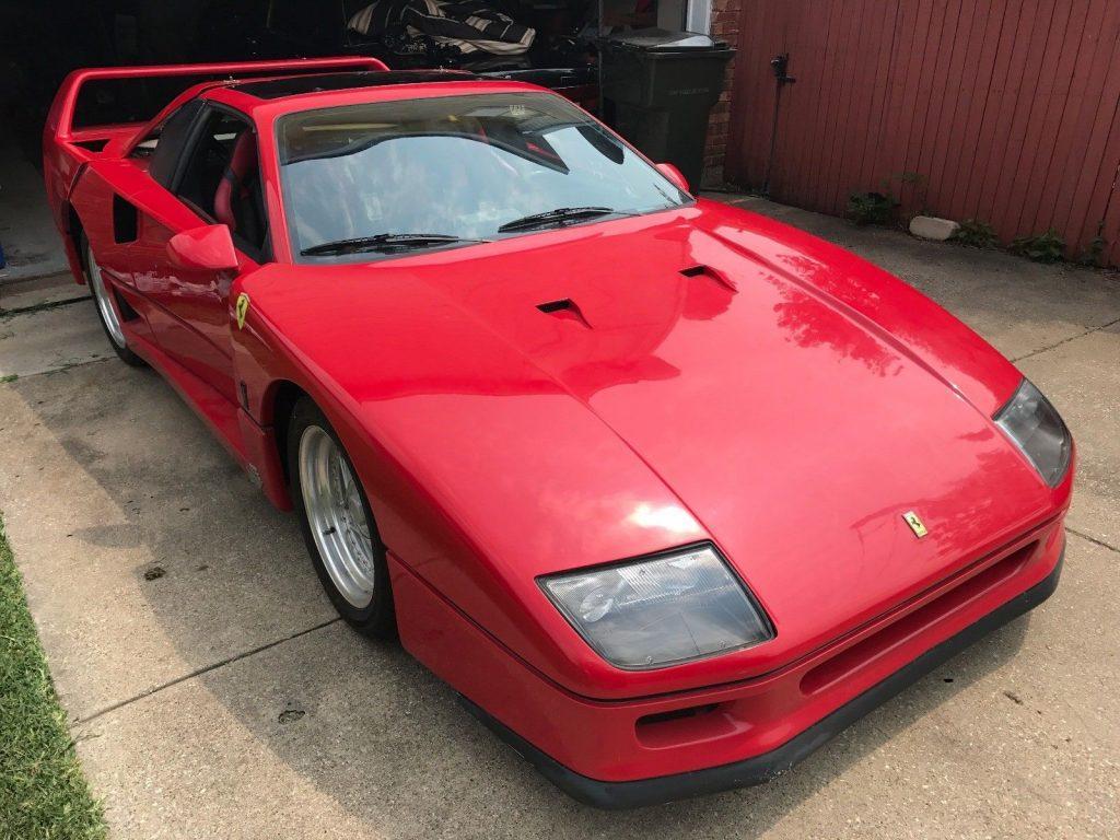Fiero based 1987 Ferrari F40 Replica