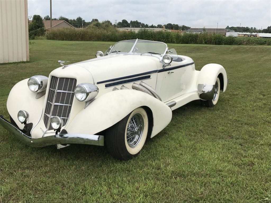 Gm Engine 1936 Replica Auburn 2 Door For Sale