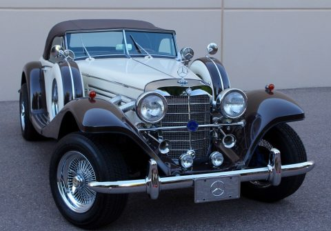 Mustang powered 1936 Mercedes Benz 500K Replica for sale