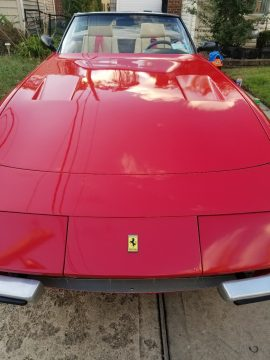 corvette based 1976 Ferrari Daytona Spyder Replica for sale
