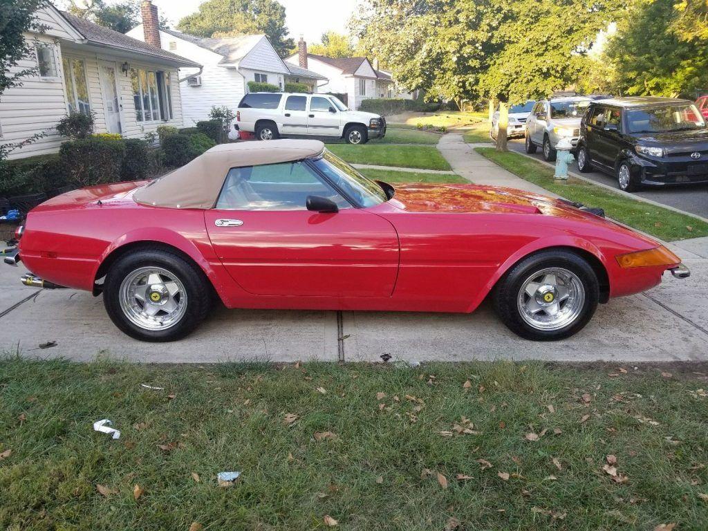 Corvette Based 1976 Ferrari Daytona Spyder Replica For Sale