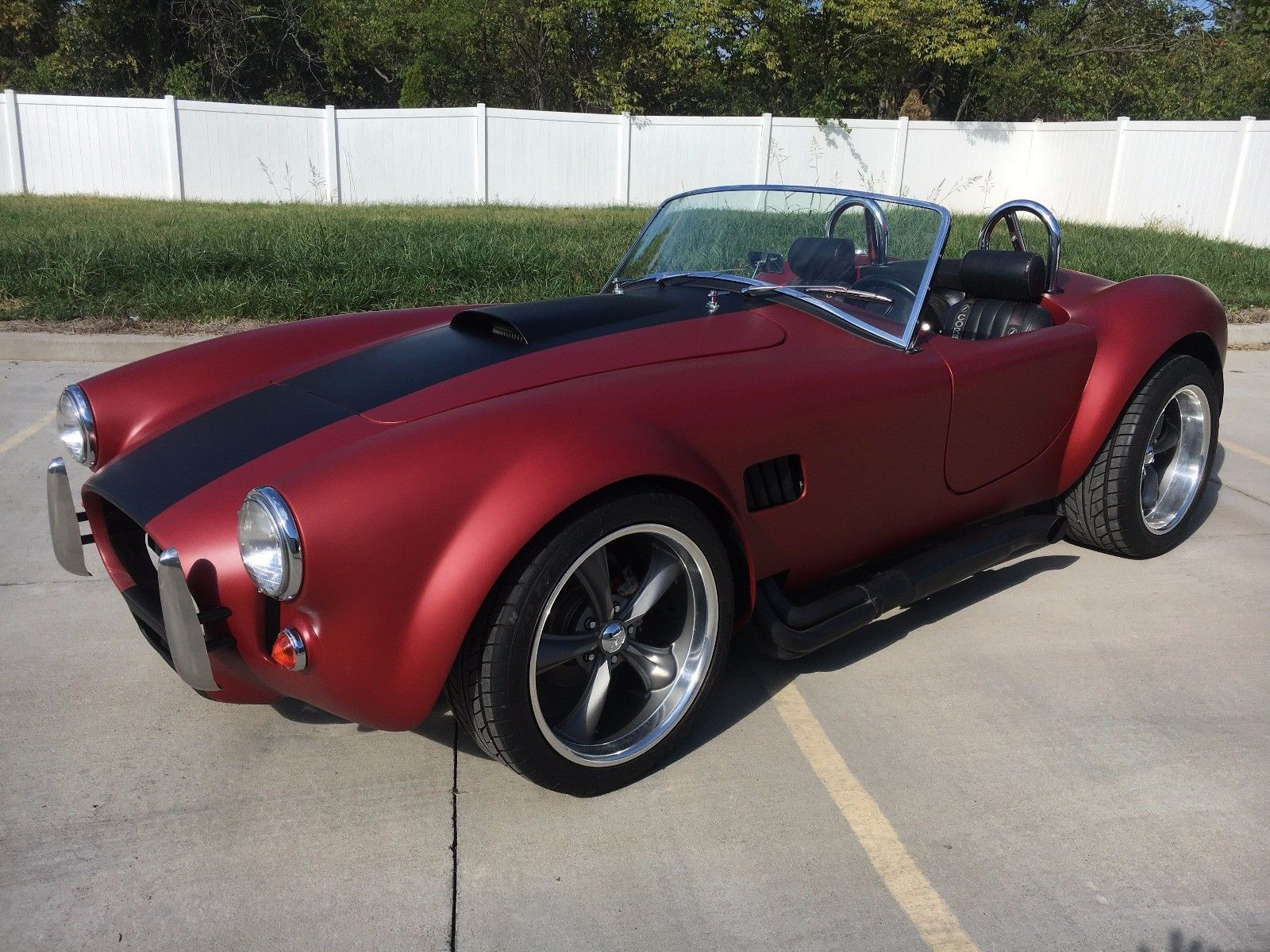 Fun To Drive 1966 Cobra Roadster Replica For Sale