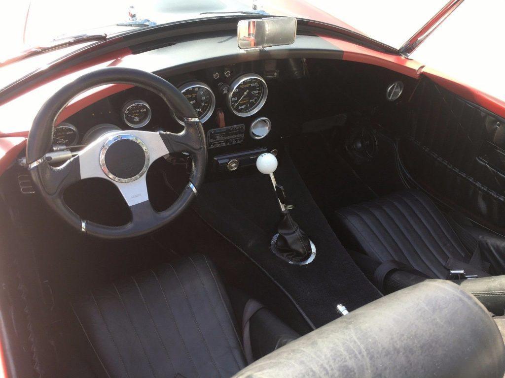 fun to drive 1966 Cobra ROADSTER Replica