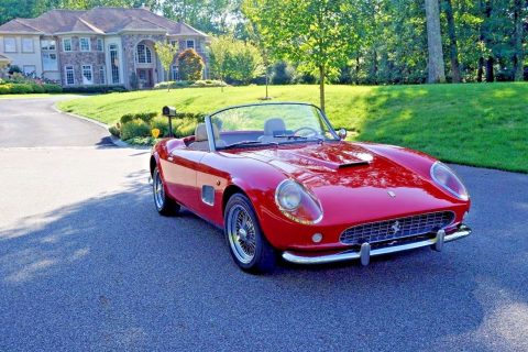 mint 1960 Spyder 250 GT California Replica for sale