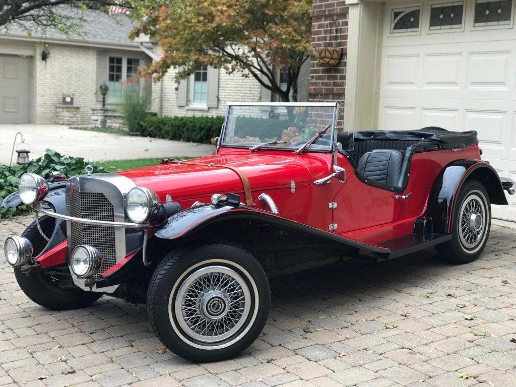 Pinto engine 1929 Mercedes-Benz Gazelle Kit Car Replica