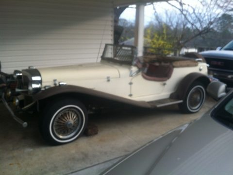 some parts missing 1929 Mercedes Benz Gazelle replica for sale