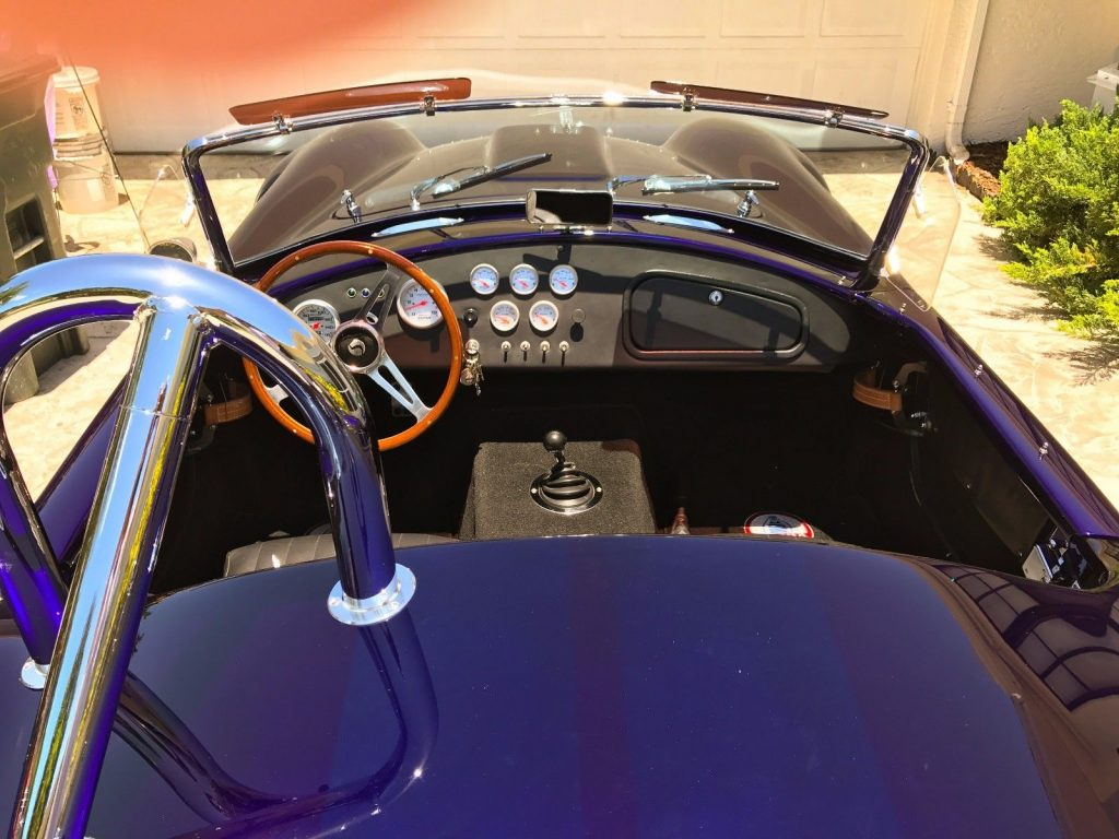 very low miles 1965 Shelby Cobra Replica