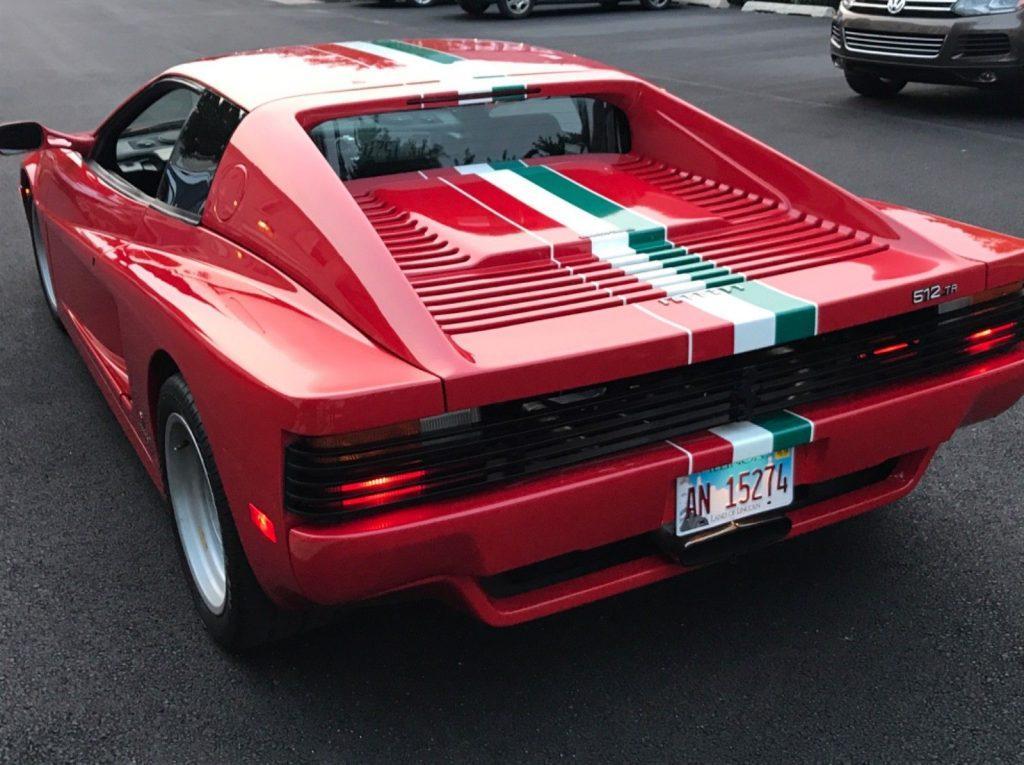 clean 1974 Ferrari Testarossa TR512 replica