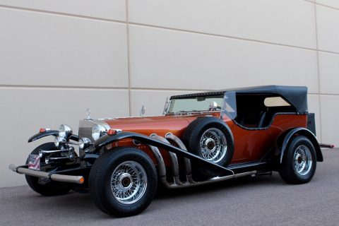 rare 1972 Excalibur Phaeton SS Replica for sale