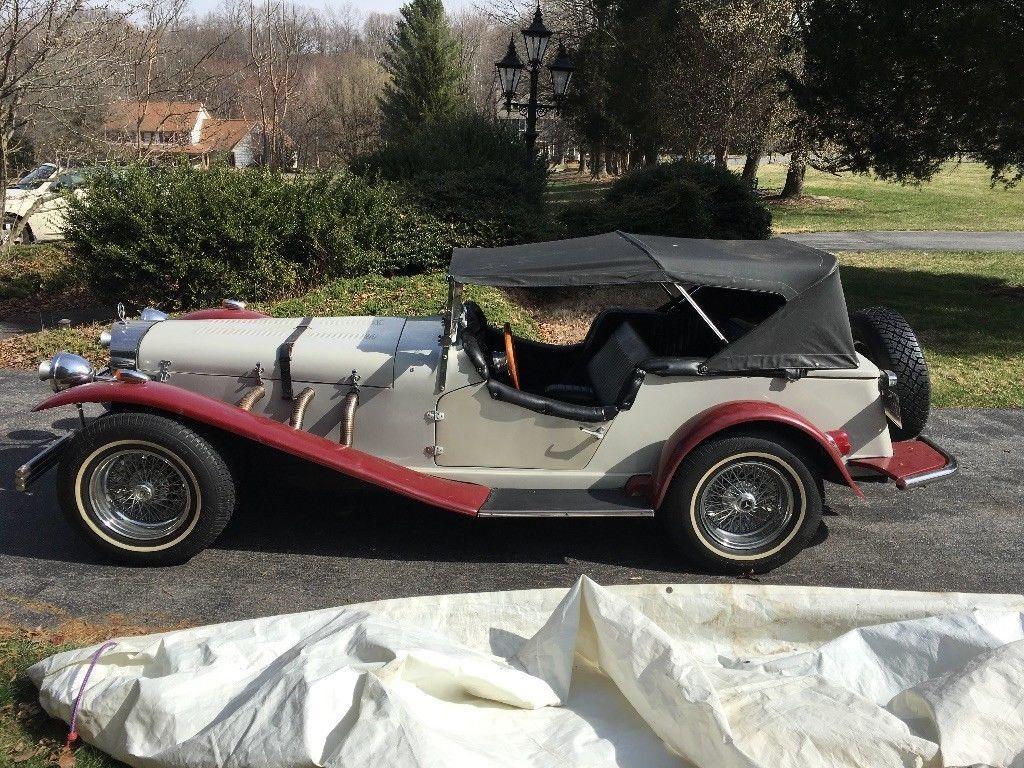 strong 1929 Mercedes SSK replica