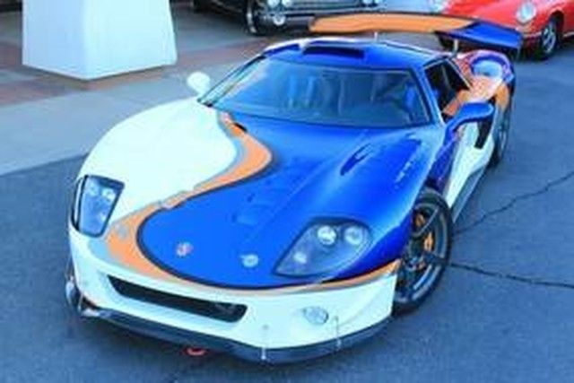 Supercharged 2012 Factory Five GTM Replica