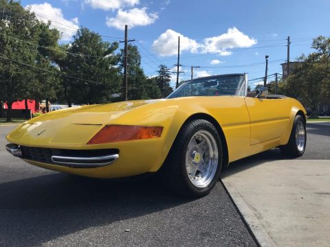 tons of upgrades 1977 Ferrari Daytona Spyder McBurine Replica for sale