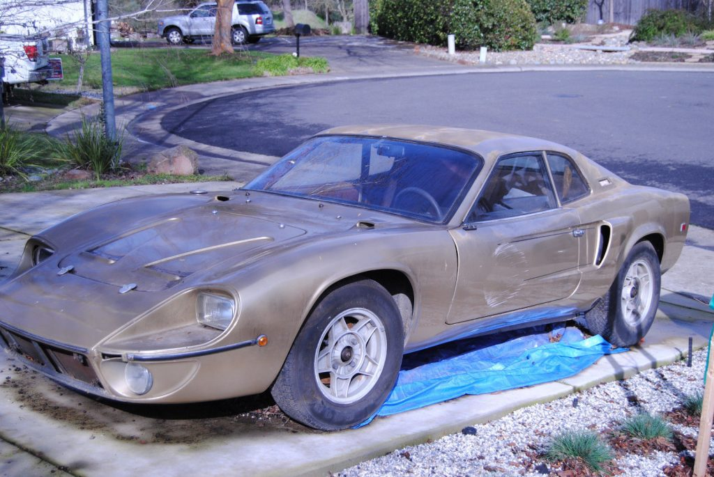 very nice 1979 GT-40 FT Bonito Custom Replica