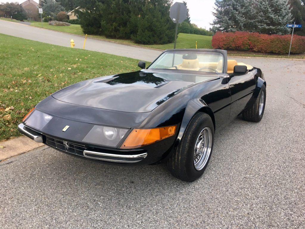 Corvette based 1981 Ferrari Daytona Spyder Replica