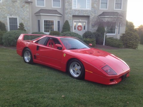 Italian bullet 1986 Ferrari F40 Replica for sale
