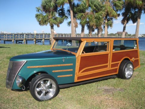 surfing stroker 1937 Ford Woody Wagon Replica for sale
