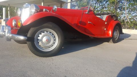 unmolested original 1952 MG TD CONVERTIBLE Replica for sale