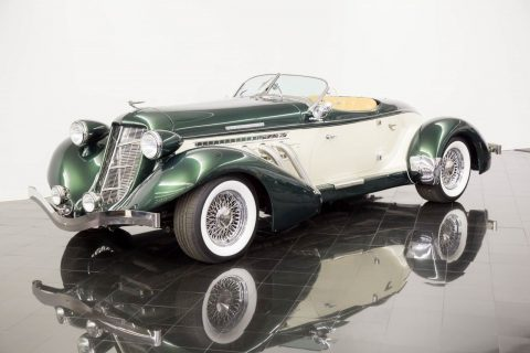 art deco classic 1936 Auburn Speedster Replica for sale