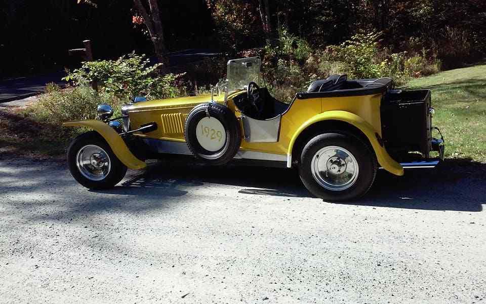 attention getter 1929 Fraser Nash Replica