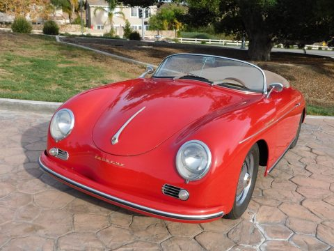 classic sport car 1957 356 Porsche Speedster Replica for sale