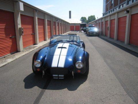 rarely driven 1965 AC Cobra Backdraft Racing Replica for sale