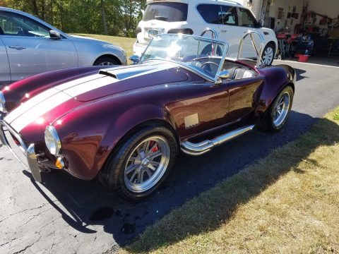 sharp 1965 AC Cobra Convertible Replica for sale