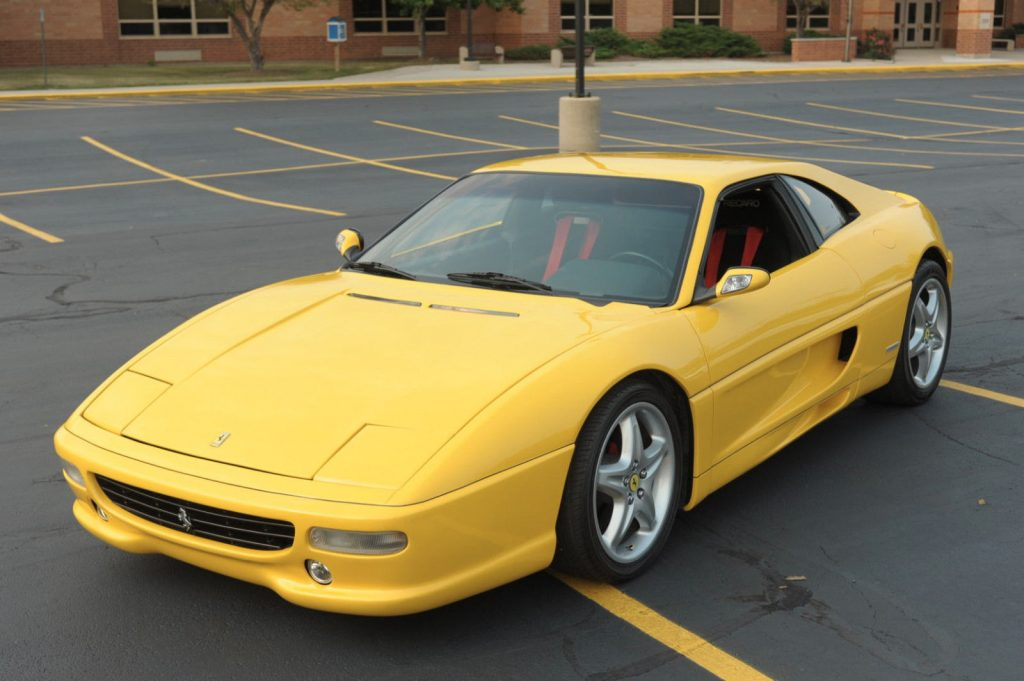 show winning 1998 Ferrari F355 Berlinetta Coupe Replica
