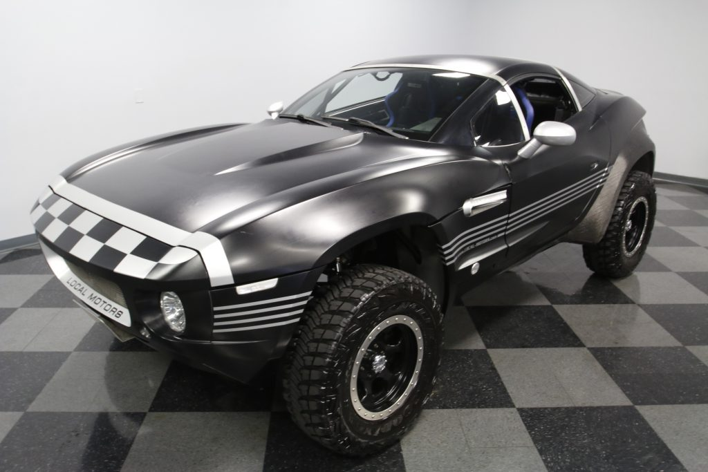 great for any terrain 2011 Local Motors Rally Fighter Replica