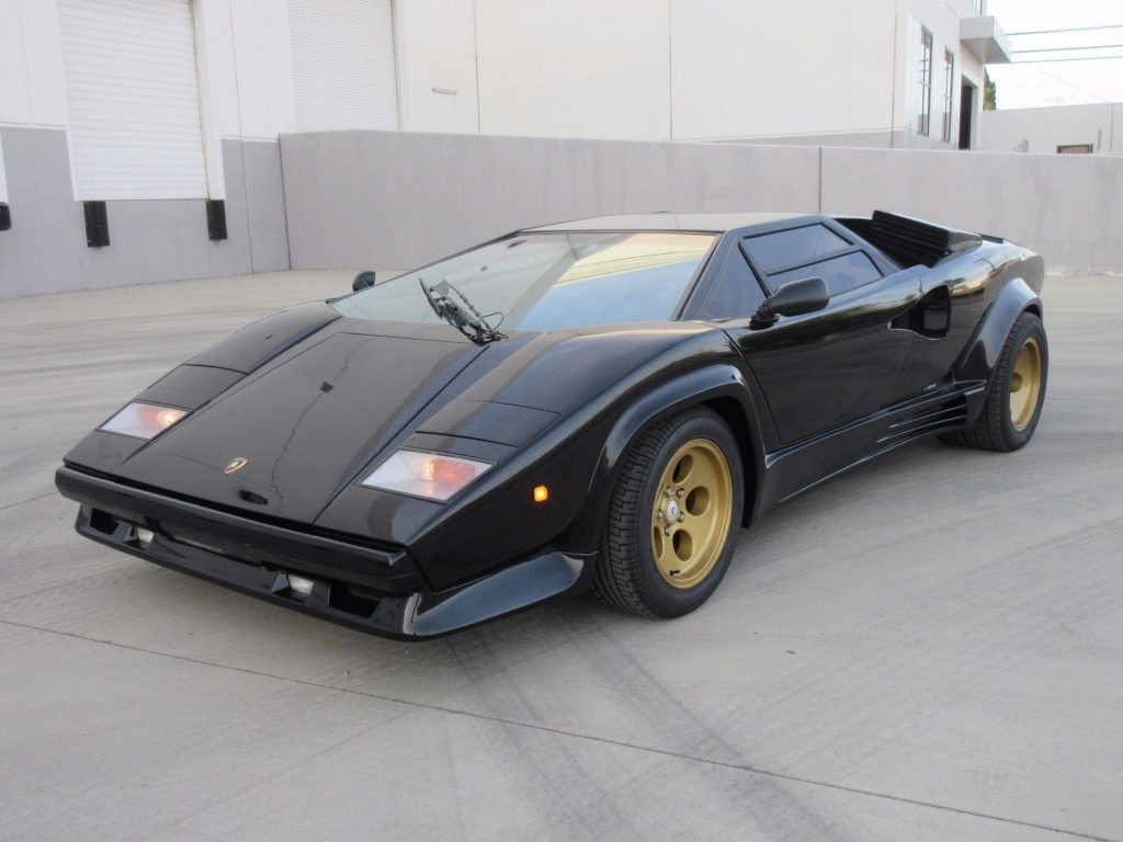 new paint 1992 lamborghini countach replica for sale. Black Bedroom Furniture Sets. Home Design Ideas