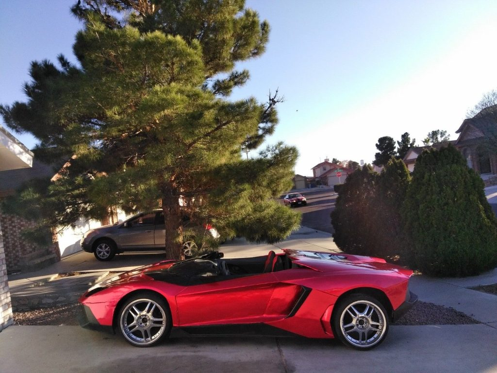 one of a kind 2000 Lambo Avent J Replica