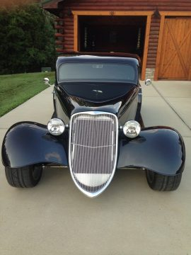 sharp and nice 1933 Factory Five Ford Hot Rod Replica for sale