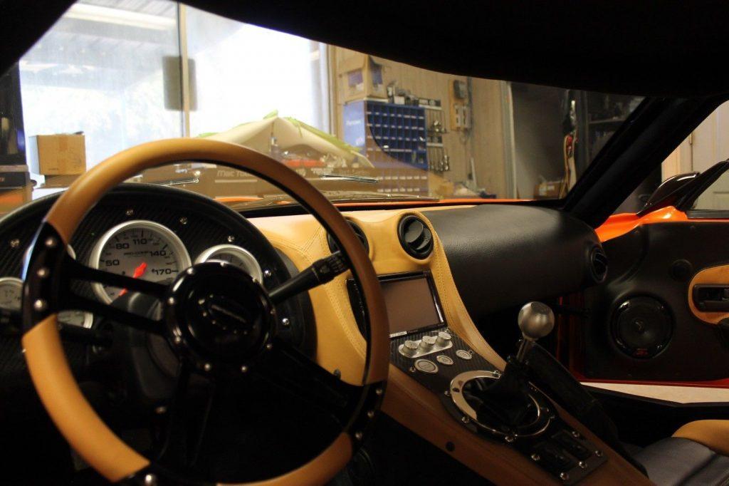 supercar 2016 Factory Five GTM Replica