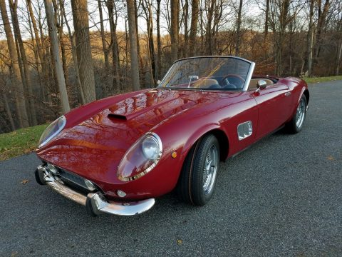 recently completed 1960 Ferrari 250 GT California replica for sale