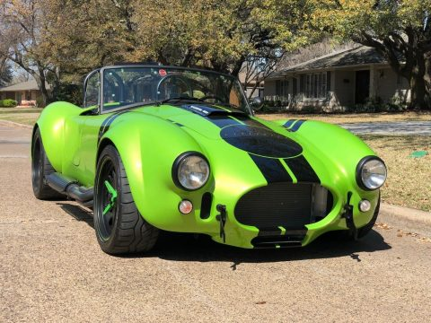 sharp 2016 Backdraft Racing Shelby Cobra Replica for sale