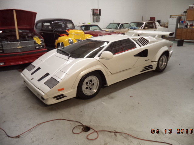 almost finished 1985 Lamborghini countach replica