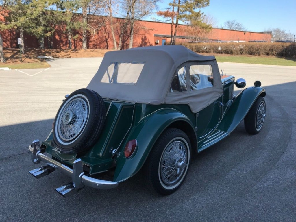 Clean 1952 MG TD London Roadster Replica