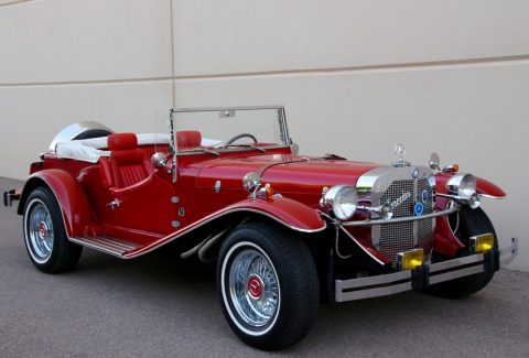 custom frame 1929 Mercedes Benz SSK Gazelle Replica for sale