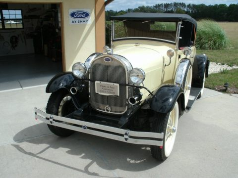 detailed 1980 Ford Model A Deluxe Replica for sale