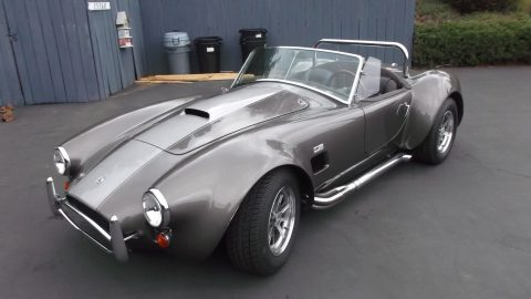recently installed big block 1965 Shelby Cobra Replica for sale