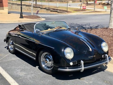 glossy 1957 Porsche 356 Convertible Speedster Replica for sale