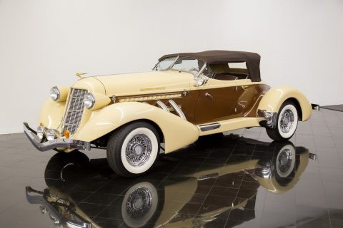 low miles 1936 Auburn 876 Boattail Phaeton Replica for sale
