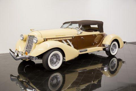 low miles 1936 Auburn 876 Boattail Phaeton Replica for sale
